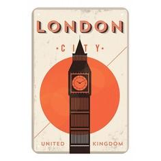 Панно (20x30 см) London city TM-113-141 Ekoramka