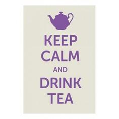 Панно (20x30 см) Drink tea TM-113-176 Ekoramka