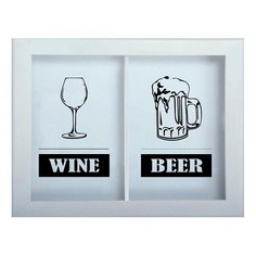 Копилка для винных пробок и пивных крышек (45x29 см) Beer/Wine KD-024-166 Дубравия