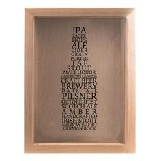 Копилка для пивных крышек (22х26 см) Сорта пива KD-023-138 Дубравия