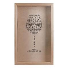 Копилка для винных пробок (29х45 см) Сорта вин KD-022-123 Дубравия