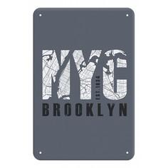 Панно (20x30 см) Brooklyn TM-113-151 Ekoramka