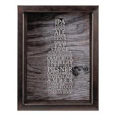 Копилка для пивных крышек (22х26 см) Сорта пива KD-023-137 Дубравия