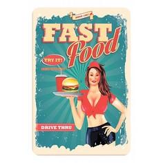 Панно (20x30 см) Fast food TM-113-125 Ekoramka