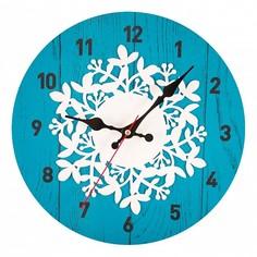 Настенные часы (30x30 см) Узор KD-039-107 Дубравия