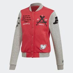 Куртка-бомбер Collegiate adidas Performance