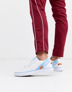 Бело-синие кроссовки Ellesse-Белый