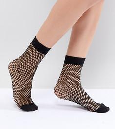 Сетчатые носки Miss Selfridge-Черный