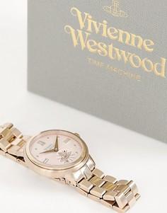 Женские часы цвета розового золота Vivienne Westwood VV158PKNU portobello-Розовый