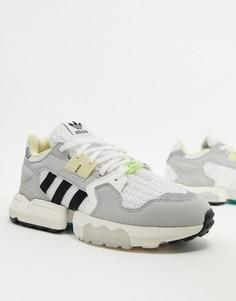Белые кроссовки adidas Originals ZX-Белый