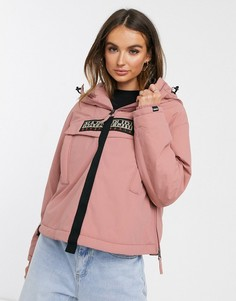 Розовая куртка Napapijri-Розовый