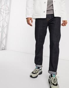 Суженные книзу джинсы классического кроя Nudie Jeans-Синий