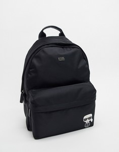 Нейлоновый рюкзак Karl Lagerfeld k/ikonik-Черный