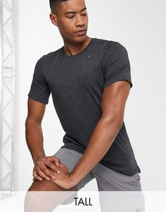 Черная футболка Nike Training Tall-Черный