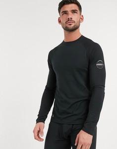 Черное боди с круглым вырезом Surfanic-Черный