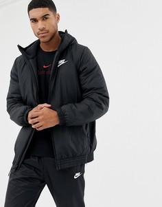 Черная ветровка Nike 928861-010-Черный