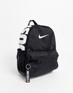 """Черный рюкзак с надписью \""""just do it\"""" Nike"""