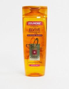 Шампунь для сухих волос 500 мл LOreal - Elvive Extraordinary Oil-Бесцветный