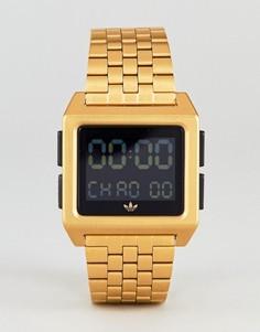 Золотистые цифровые часы adidas Z01 Archive-Золотой