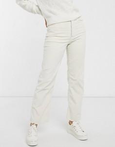Прямые джинсы до щиколотки кремового цвета Levis-Кремовый