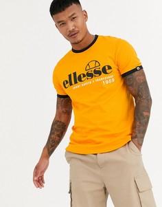Оранжевая футболка ellesse Terni-Оранжевый