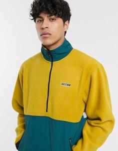 Золотистая флисовая куртка Obey-Желтый