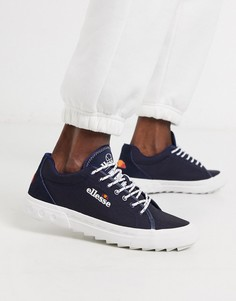Сине-белые кроссовки ellesse Taggia-Синий