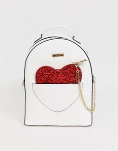 Рюкзак с клатчем в виде сердца Aldo-Белый