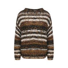 Свитеры Brunello Cucinelli Вязаный пуловер свободного кроя Brunello Cucinelli