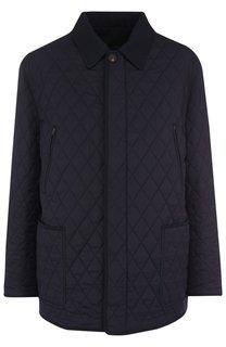 Двусторонняя куртка из смеси шерсти и шелка Brioni