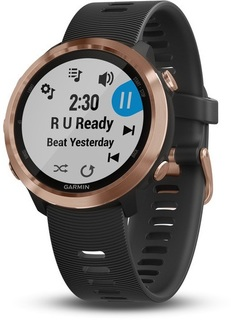 Спортивные часы Garmin Forerunner 645 Music Rose Gold