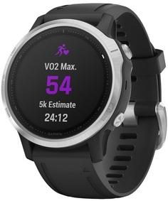 Спортивные часы Garmin Fenix 6S (черный, серебристый)