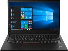 Ноутбук Lenovo ThinkPad X1 Carbon 7 20QD003MRT (черный)