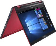 Ноутбук Fujitsu LifeBook U939X LKN:U939XM0010RU (красный)