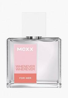 Туалетная вода Mexx Whenever Wherever, 30 мл