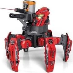 Радиоуправляемый боевой робот-паук Keye Toys Space Warrior, лазер, пульки, красный, 2.4G - KT-9008-1R