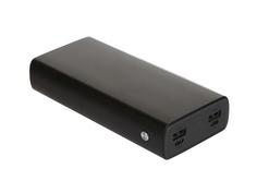 Внешний аккумулятор Red Line Power Bank RP-16 20000mAh Metal Black УТ000018978