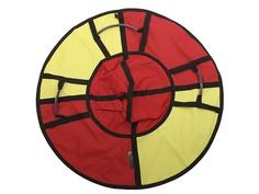 Тюбинг Hubster Хайп 110cm Red-Yellow ВО5572-4