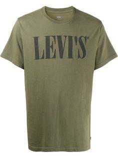 Levis футболка с круглым вырезом