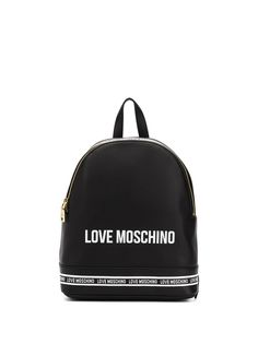 Love Moschino рюкзак с логотипом и полосками