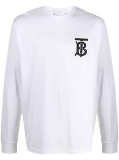 Burberry футболка с логотипом