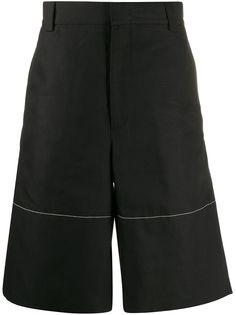 Jil Sander шорты-бермуды широкого кроя