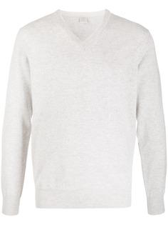 Eleventy кашемировый пуловер с V-образным вырезом