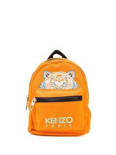 Kenzo мини-рюкзак с логотипом Tiger