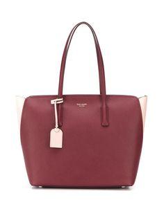Kate Spade сумка-тоут с металлическим логотипом