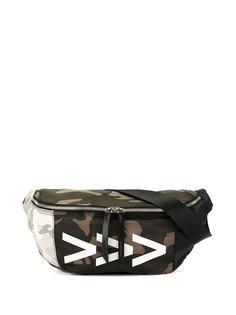 Ports V поясная сумка с камуфляжным принтом