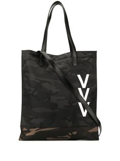 Ports V сумка-тоут с камуфляжным принтом