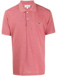 Lacoste рубашка-поло с вышитым логотипом