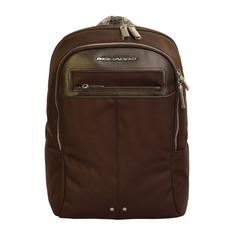 Рюкзак Piquadro Link CA3214LK2/TM темно-коричневый натур.кожа/ткань