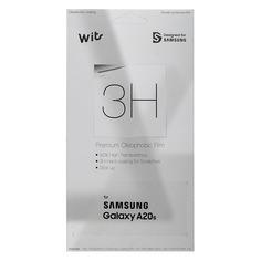 Защитная пленка для экрана SAMSUNG Wits для Samsung Galaxy A20s, прозрачная, 1 шт, прозрачный [gp-tfa207wsatr]